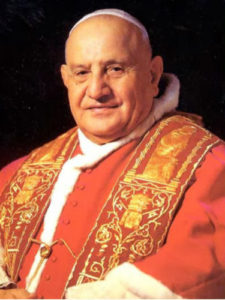 """<a href=""""https://www.eglisepalmarienne.org/recent-popes-francais/#papajuanxxiii"""" title=""""Pope Saint John XXIII"""">Pope Saint John XXIII<br><i>Pastor et Nauta</i><br><br>Read more"""
