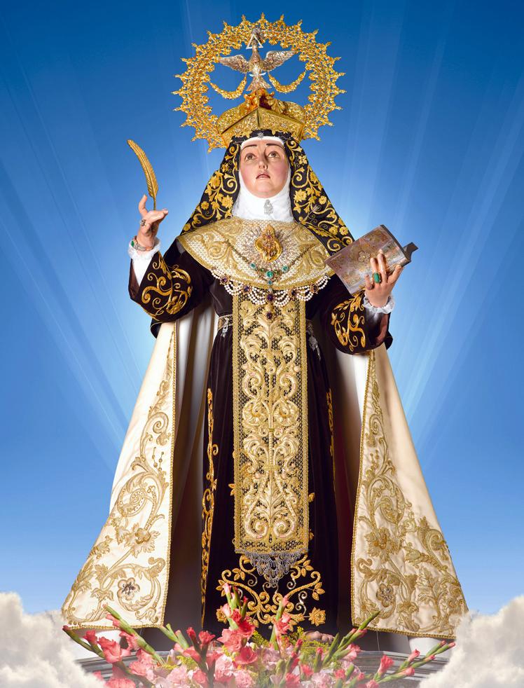 Crowned Saint Teresa of Jesus