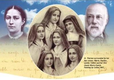 <i>La canonisation de certains membres de la famille de Sainte Thérèse</i><br><br>En Savoir Plus